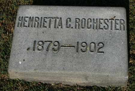 ROCHESTER, HENRIETTA C. - Jefferson County, Kentucky | HENRIETTA C. ROCHESTER - Kentucky Gravestone Photos