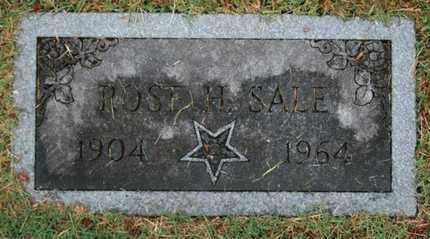 SALE, ROSE H. - Jefferson County, Kentucky | ROSE H. SALE - Kentucky Gravestone Photos