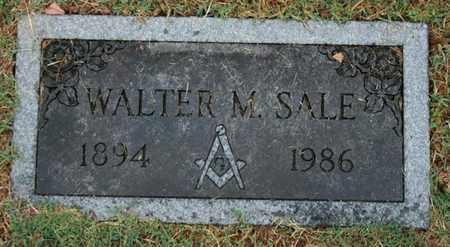 SALE, WALTER M. - Jefferson County, Kentucky | WALTER M. SALE - Kentucky Gravestone Photos