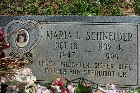 SCHNEIDER, MARIA - Jefferson County, Kentucky | MARIA SCHNEIDER - Kentucky Gravestone Photos