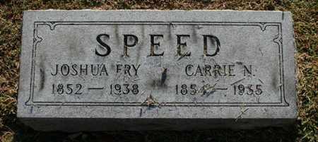 SPEED, CARRIE N. - Jefferson County, Kentucky | CARRIE N. SPEED - Kentucky Gravestone Photos