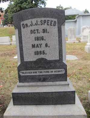 SPEED, J. J. - Jefferson County, Kentucky | J. J. SPEED - Kentucky Gravestone Photos