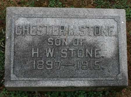 STONE, CHESTER M. - Jefferson County, Kentucky | CHESTER M. STONE - Kentucky Gravestone Photos