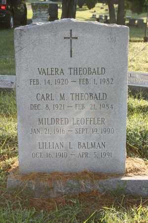 BALMAN, LILLIAN L. - Jefferson County, Kentucky | LILLIAN L. BALMAN - Kentucky Gravestone Photos
