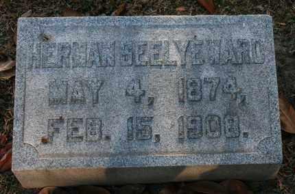 WARD, HERMAN SEELYE - Jefferson County, Kentucky | HERMAN SEELYE WARD - Kentucky Gravestone Photos