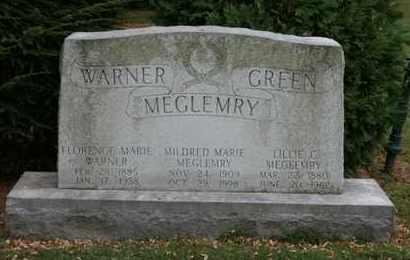 MEGLEMRY, MILDRED MARIE - Jefferson County, Kentucky | MILDRED MARIE MEGLEMRY - Kentucky Gravestone Photos