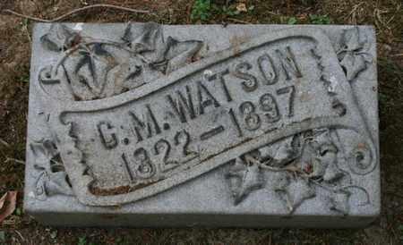 WATSON, C. M. - Jefferson County, Kentucky | C. M. WATSON - Kentucky Gravestone Photos