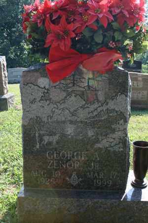 ZENOR, GEORGE - Jefferson County, Kentucky | GEORGE ZENOR - Kentucky Gravestone Photos