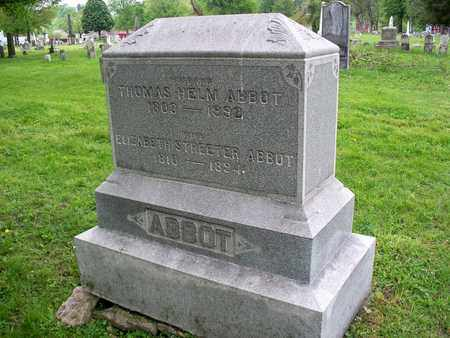 ABBOT, THOMAS HELM - Kenton County, Kentucky | THOMAS HELM ABBOT - Kentucky Gravestone Photos
