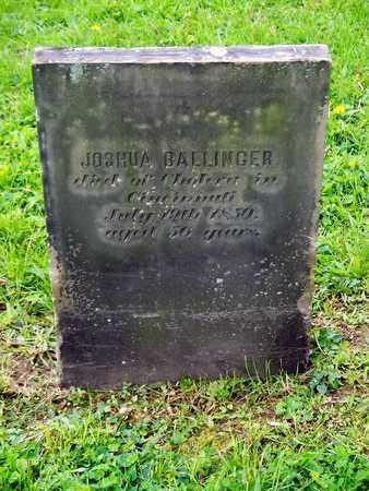 BALLINGER, JOSHUA - Kenton County, Kentucky | JOSHUA BALLINGER - Kentucky Gravestone Photos