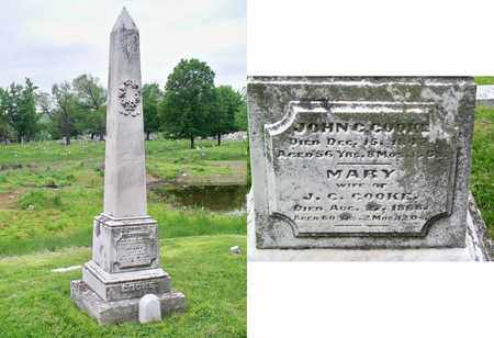 COOKE, MARY - Kenton County, Kentucky   MARY COOKE - Kentucky Gravestone Photos