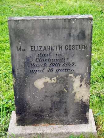 COSTLER, ELIZABETH - Kenton County, Kentucky | ELIZABETH COSTLER - Kentucky Gravestone Photos