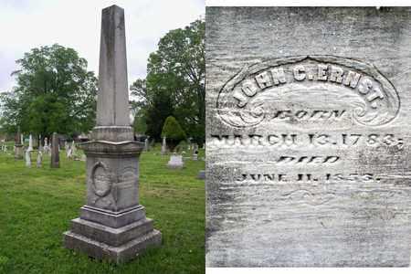 ERNST, JOHN C - Kenton County, Kentucky | JOHN C ERNST - Kentucky Gravestone Photos