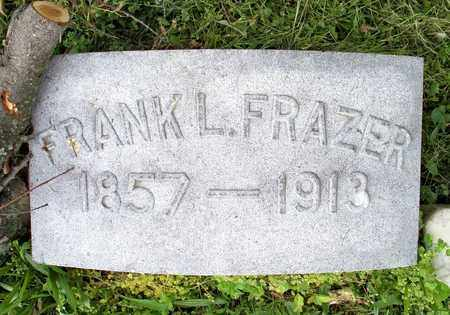 FRAZER, FRANK L - Kenton County, Kentucky | FRANK L FRAZER - Kentucky Gravestone Photos