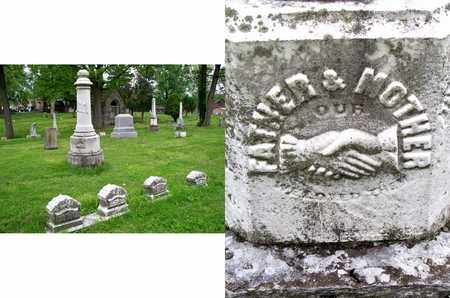 HERBERT, FATHER & MOTHER - Kenton County, Kentucky   FATHER & MOTHER HERBERT - Kentucky Gravestone Photos