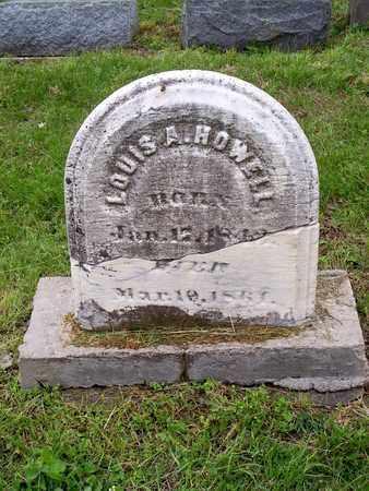 HOWELL, LOUIS A - Kenton County, Kentucky | LOUIS A HOWELL - Kentucky Gravestone Photos