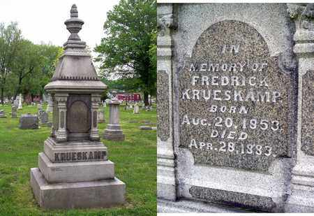 KRUESKAMP, FREDERICK - Kenton County, Kentucky | FREDERICK KRUESKAMP - Kentucky Gravestone Photos