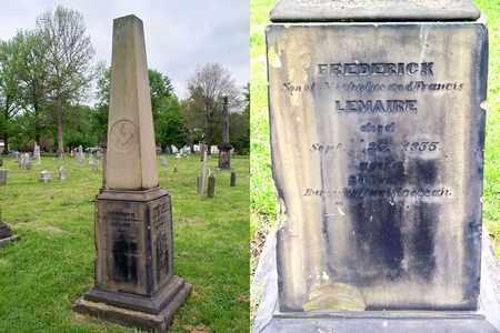 LEMAIRE, FREDERICK - Kenton County, Kentucky | FREDERICK LEMAIRE - Kentucky Gravestone Photos