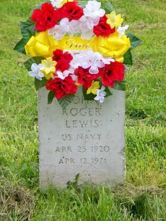 LEWIS (VETERAN), JOHN ROGER - Kenton County, Kentucky | JOHN ROGER LEWIS (VETERAN) - Kentucky Gravestone Photos
