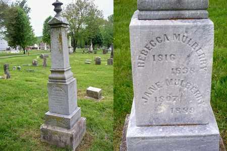 MULBERRY, JANE - Kenton County, Kentucky | JANE MULBERRY - Kentucky Gravestone Photos