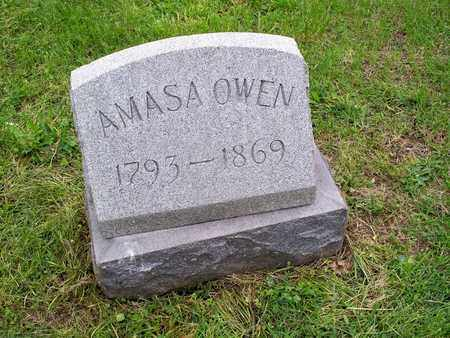 OWEN, AMASA - Kenton County, Kentucky | AMASA OWEN - Kentucky Gravestone Photos