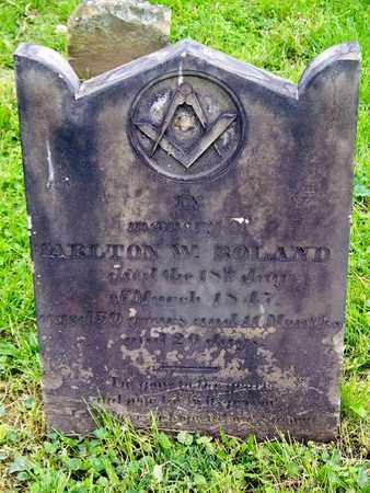 ROLAND, TARLTON W - Kenton County, Kentucky | TARLTON W ROLAND - Kentucky Gravestone Photos