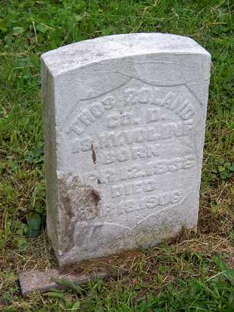 ROLAND (VETERAN UNION), THOMAS - Kenton County, Kentucky | THOMAS ROLAND (VETERAN UNION) - Kentucky Gravestone Photos