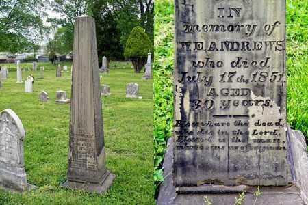 ANDREWS, W E - Kenton County, Kentucky   W E ANDREWS - Kentucky Gravestone Photos