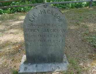 JACKSON, EVE - Laurel County, Kentucky | EVE JACKSON - Kentucky Gravestone Photos