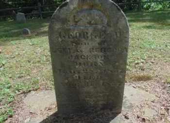 JACKSON, GEORGE - Laurel County, Kentucky   GEORGE JACKSON - Kentucky Gravestone Photos