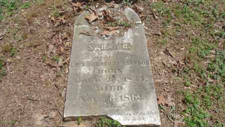 JACKSON, SARAH C - Laurel County, Kentucky   SARAH C JACKSON - Kentucky Gravestone Photos