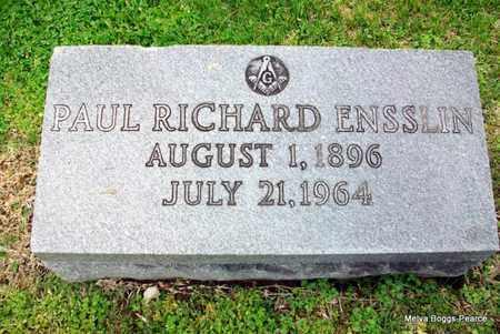 ENSSLIN, PAUL - Laurel County, Kentucky | PAUL ENSSLIN - Kentucky Gravestone Photos
