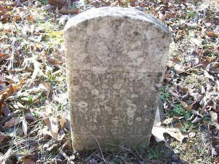 BARKER, SARAH - Lawrence County, Kentucky | SARAH BARKER - Kentucky Gravestone Photos