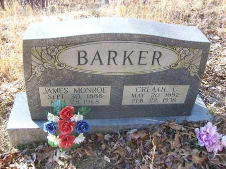BARKER, CREATIE C - Lawrence County, Kentucky | CREATIE C BARKER - Kentucky Gravestone Photos