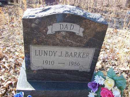 BARKER, LUNDY J - Lawrence County, Kentucky   LUNDY J BARKER - Kentucky Gravestone Photos