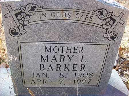 BARKER, MARY L - Lawrence County, Kentucky | MARY L BARKER - Kentucky Gravestone Photos