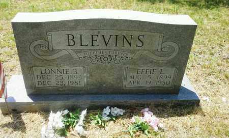 BLEVINS, EFFIE L - Lawrence County, Kentucky | EFFIE L BLEVINS - Kentucky Gravestone Photos