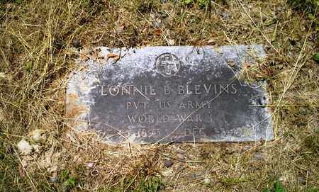 BLEVINS (VETERAN WWI), LONNIE B - Lawrence County, Kentucky | LONNIE B BLEVINS (VETERAN WWI) - Kentucky Gravestone Photos