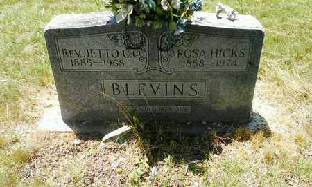 HICKS BLEVINS, ROSA - Lawrence County, Kentucky | ROSA HICKS BLEVINS - Kentucky Gravestone Photos