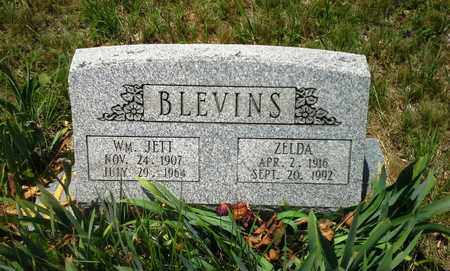 BLEVINS, WILLIAM JETT - Lawrence County, Kentucky | WILLIAM JETT BLEVINS - Kentucky Gravestone Photos