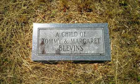 BLEVINS, CHILD - Lawrence County, Kentucky | CHILD BLEVINS - Kentucky Gravestone Photos
