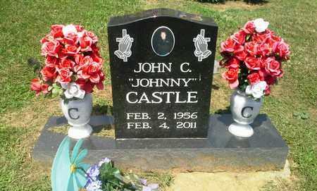 "CASTLE, JOHN C ""JOHNNY"" - Lawrence County, Kentucky | JOHN C ""JOHNNY"" CASTLE - Kentucky Gravestone Photos"