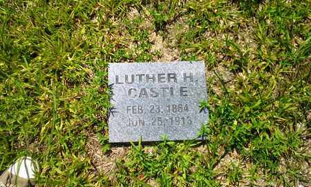 CASTLE, LUTHER H - Lawrence County, Kentucky | LUTHER H CASTLE - Kentucky Gravestone Photos