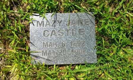CASTLE, MAZY JANE - Lawrence County, Kentucky | MAZY JANE CASTLE - Kentucky Gravestone Photos