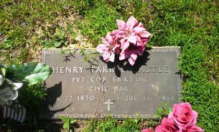 CASTLE (VETERAN UNION), HENRY FARRIS - Lawrence County, Kentucky | HENRY FARRIS CASTLE (VETERAN UNION) - Kentucky Gravestone Photos