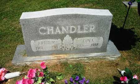 CHANDLER, COVA - Lawrence County, Kentucky   COVA CHANDLER - Kentucky Gravestone Photos