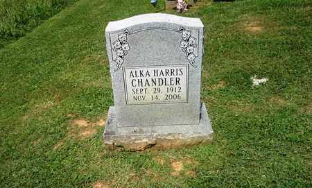 CHANDLER, ALKA HARRIS - Lawrence County, Kentucky   ALKA HARRIS CHANDLER - Kentucky Gravestone Photos