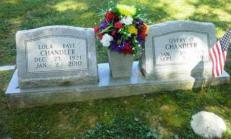 CHANDLER, OVERY O - Lawrence County, Kentucky   OVERY O CHANDLER - Kentucky Gravestone Photos