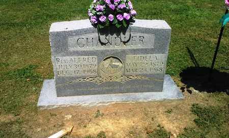 CHANDLER, FIDELA - Lawrence County, Kentucky | FIDELA CHANDLER - Kentucky Gravestone Photos