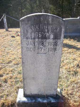 DOBYNS, ANDREW J - Lawrence County, Kentucky   ANDREW J DOBYNS - Kentucky Gravestone Photos